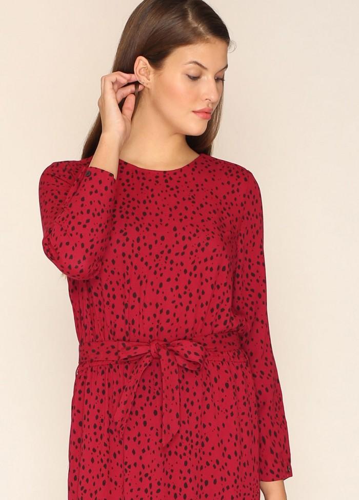 Vestido largo Victoria rojo