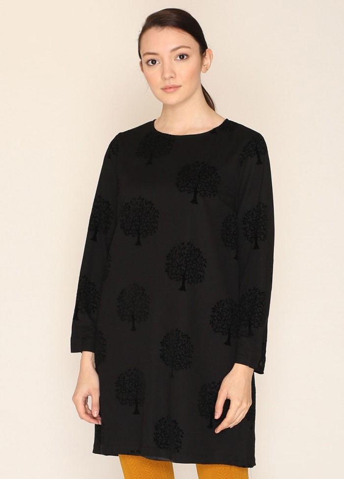HEPBURN SHORT DRESS BLACK
