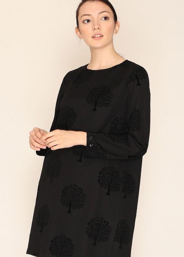 Vestido Hepburn negro