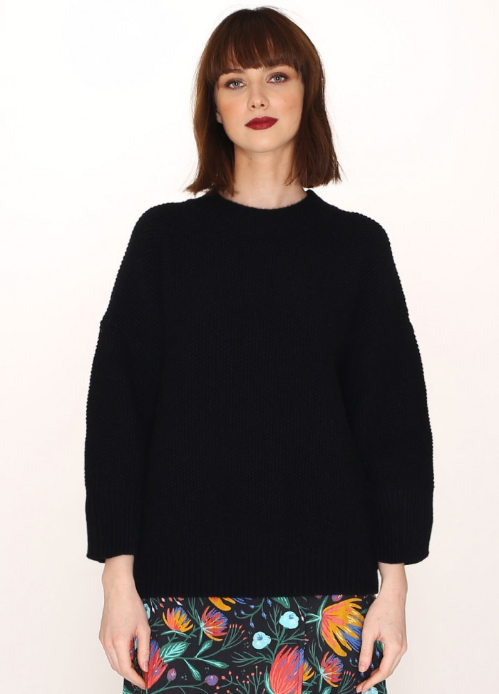 RICE SWEATER BLACK