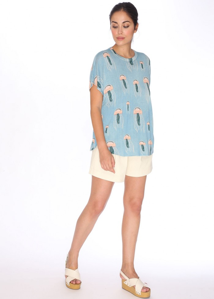 SWEATER JELLYFISH SHORT SLEEVE