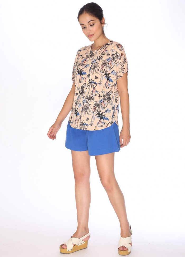 SWEATER HAWAII SHORT SLEEVE