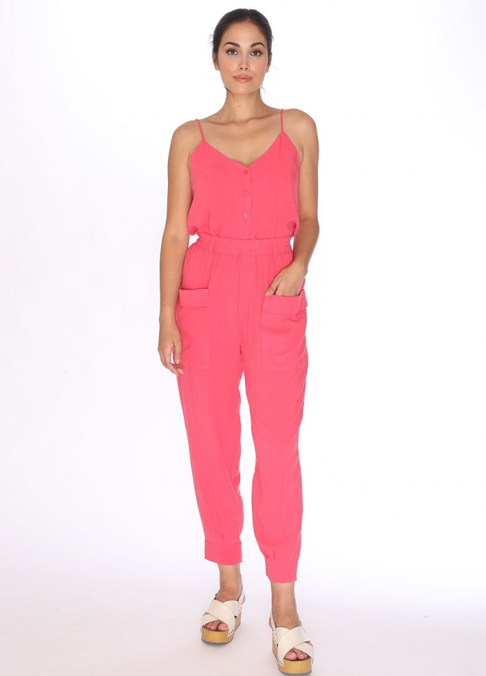JOGGER TROUSERS CORAL