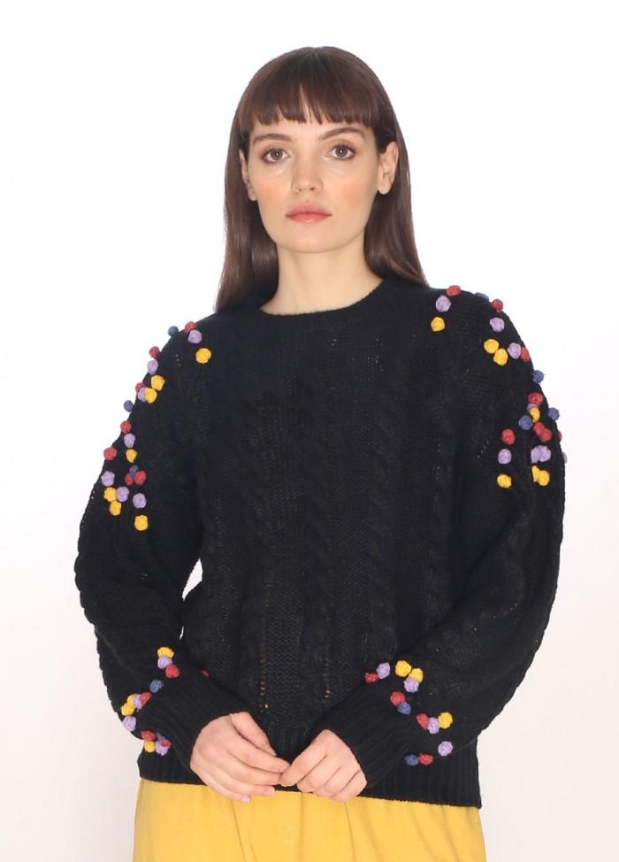 Camisa Gingham negra