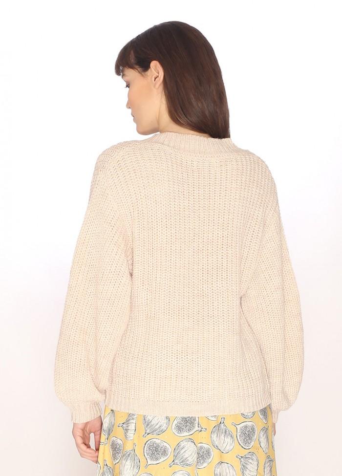Damask sweater wine
