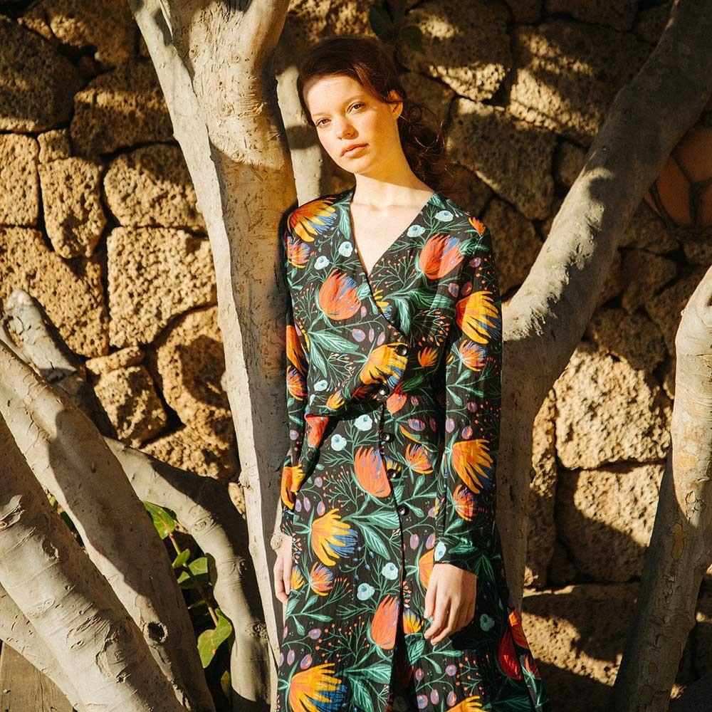 Camisa flores // Falda flores